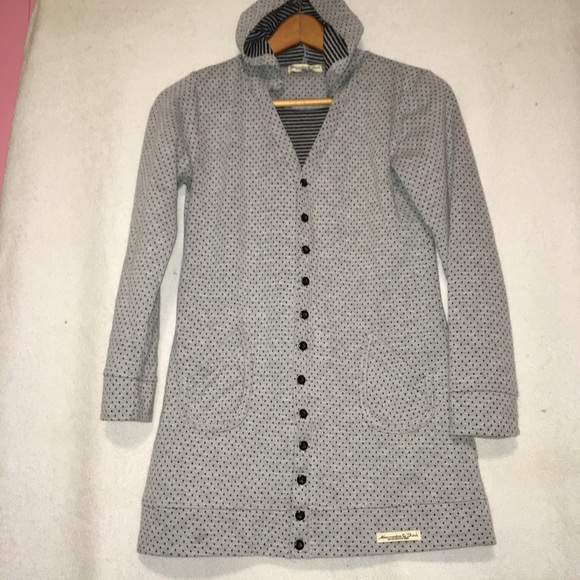 Abercrombie & Fitch Other - Abercrombie & Fitch Polka Dot Jacket